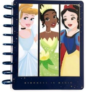 Happy planner Disney princess vertical planner NWT